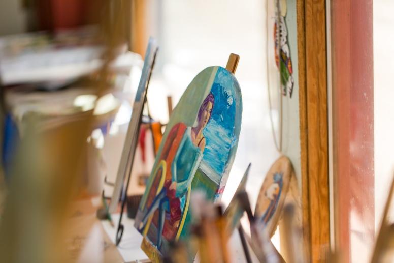 George Chacon studio 5