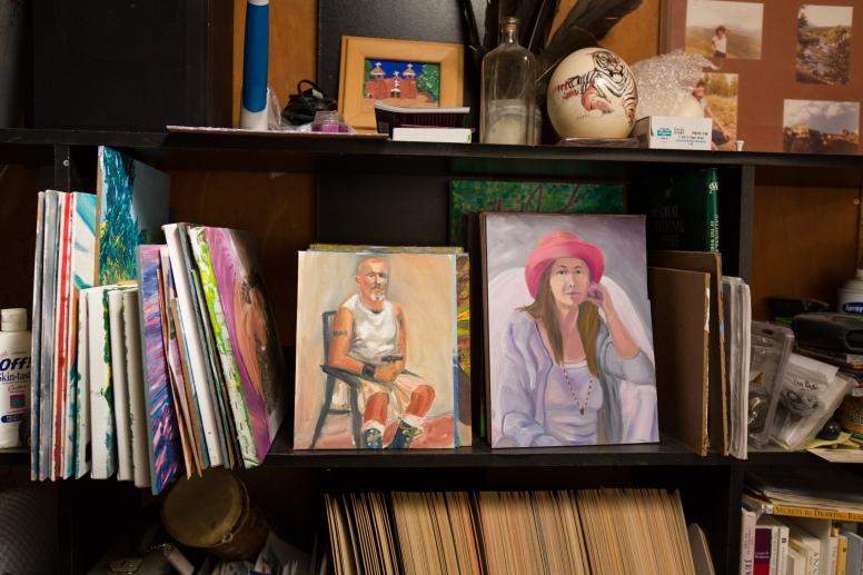 George Chacon studio 2