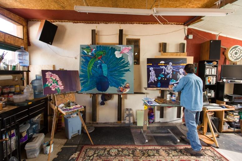 George Chacon studio 3