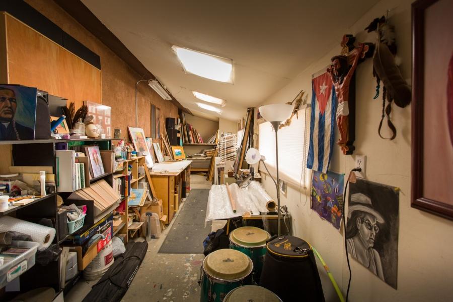 George Chacon studio 1