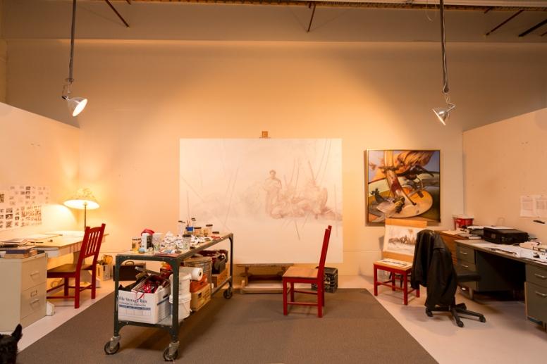 Mark Spencer studio 2